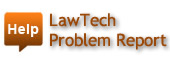 Law Tech Problem Report